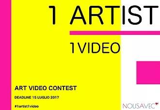 Contest 1 ARTIST / 1 VIDEO